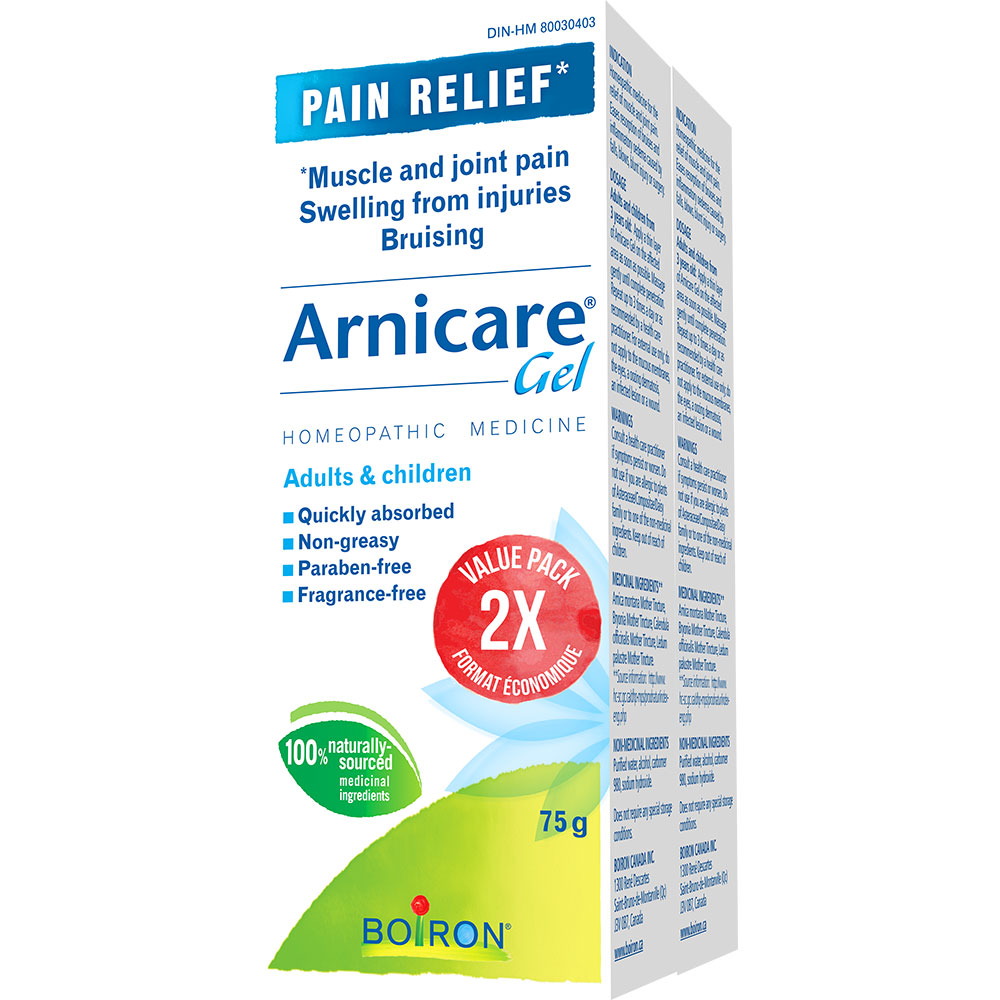 : Boiron Arnicare Gel Value Pack 2 x 75g